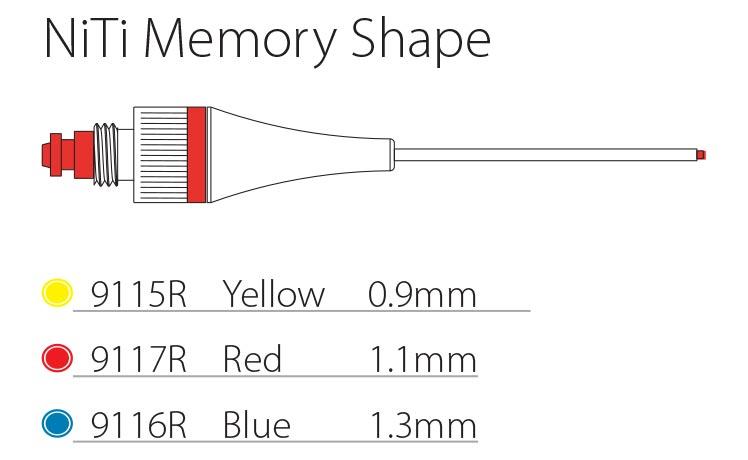 NiTi Memory Shape Needles